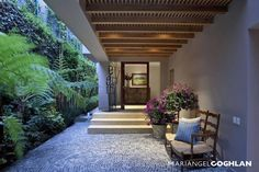 Minimalist Home Terrace Ideas with Minimalist Plant Garden 02 Outdoor Rooms, Outdoor Living, Outdoor Decor, Porch And Terrace, Casa Patio, Design Exterior, Minimalist Home, Architecture, My Dream Home
