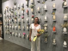 "Me and ""The Clay Parade"" at Pura Cal, 24 May - 24 July  #exhibition #clayparade #ceramics #army #contemporaryart #mariacastelbrancoceramic #handmade #potterswheel #puracal"