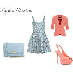 """Lydia Martin"" by rebecca-fitzpatrick on Polyvore"