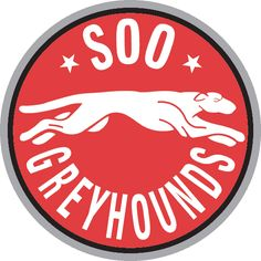 Marie Greyhounds Primary Logo on Chris Creamer's Sports Logos Page - SportsLogos. A virtual museum of sports logos, uniforms and historical items. Hockey Logos, Hockey Teams, Sault Ste Marie, Sports Clubs, Sports Logos, Team Mascots, Great Logos, Local Attractions, Adult Crafts
