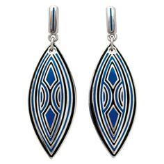 French Deco Azure Earrings - Earrings - Jewelry - The Met Store