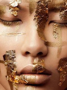 Gilded on Makeup Arts Served