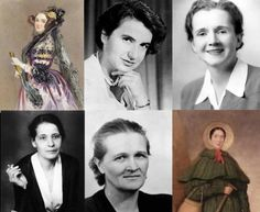 female scientists you may not know  1. Ada Lovelace-Analyst, metaphysician, and founder of scientific computing.  2. Rosalind Franklin-Biophysicist and X-ray crystallographer   3. Rachel Carson-Marine biologist  4. Lise Meitner- physicist  5. Cecilia Payne -Astronomer and astrophysicist   6. Mary Anning- paleontologist