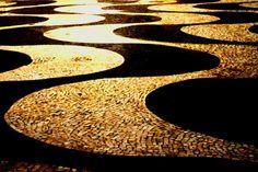 Roberto Burle Marx - Pavements Night reflection
