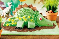 Party like it's 200 million BC with this dinosaur-themed do. It's guaranteed to go down in pre-history.