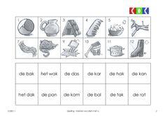 oefenen met de klank a Teaching English, Spelling, Mini, Education, School, Games, Onderwijs, Learning