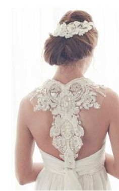 this is the back of my future wedding dress <3
