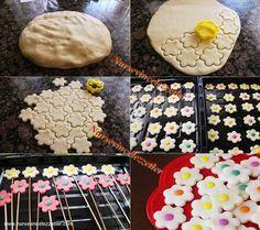 Bonibonlu Kurabiye Yapı aşamaları Biscuits, Biscotti Cookies, Chocolate, Bento, Marshmallow, Oreo, Sweet Treats, Deserts, Muffin
