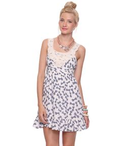 cute bow dress