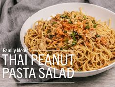 Rotisserie Chicken Remix: Thai Peanut Pasta SaladTempt your taste buds with this easy noodle salad - great for lunch or a light dinner. It comes together in a snap, thanks to a rotisserie chicken from...