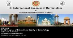 ICD 2013 World Congress of International Society of Dermatology 뉴델리 국제 피부과 회의