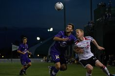 February 25 - Disney Pro Soccer Classic: Orlando City vs. Toronto FC (Luke Boden, R, and Charlie Campbell, L, pictured) #soccer, thanks to Orlando City Soccer for the great picture and pin