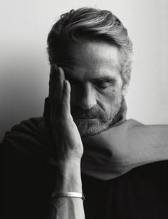 """""""I constantly experience failure in that my work is never as good as I want it to be. So I live with failure"""" -Jeremy Irons (ph. by Brigitte Lacombe) Brigitte Lacombe, Gorgeous Men, Beautiful People, Jeremy Irons, Photographie Portrait Inspiration, Celebrity Portraits, Black And White Portraits, Famous Faces, Hollywood Stars"""