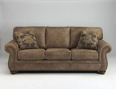 Chaise Lounge Sofa The Kaylor DuraBlend Queen Sofa Sleeper from Ashley Furniture HomeStore AFHS DuraBlend Match upholstery features DuraBlend upholstery in u