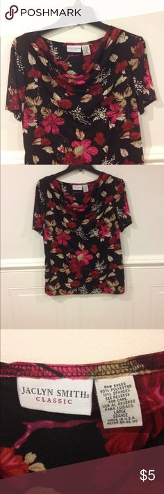 Jaclyn Smith Large blouse good condition Size Large Jaclyn Smith blouse good condition Jaclyn Smith Tops Blouses