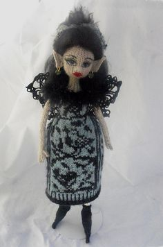 Ravelry: lawrencji's Talisa Hand knit fairy doll.