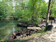 At the park at Château du Clos Lucé #france