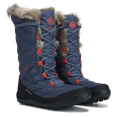 Columbia Women's Minx Mid 3 Omni-Heat Waterproof Winter Boot at Famous Footwear Quirky Fashion, Nyc Fashion, Sport Fashion, Autumn Fashion, Tall Winter Boots, Waterproof Winter Boots, Fur Collars, Trekking, Winter Wonderland