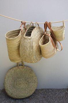 Straw Baskets — Motherkind