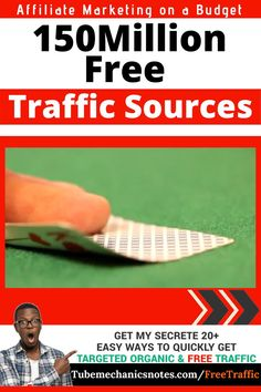 More than 150 Million Visitors a month: Free Traffic Source for Affiliate Marketing   There are countless opportunities to increase traffic to your affiliate offers, but as always content is king.  This particular website you will need for this method to work gets over 150 millions visitors per month. You don't want to miss out on that amount of traffic, do you?  So If you're an affiliate content marketer, you can take advantage of this platform to get more leads and drive more traffic Marketing Tools, Business Marketing, Make Money Online, How To Make Money, Amazon Affiliate Marketing, Success And Failure, Big Challenge, Get Over It, Budgeting