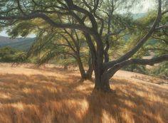 Paintings by Robert J Barber Art Studies, Art Paintings, Painting Inspiration, Barber, Landscapes, Country Roads, Trees, California, Oil