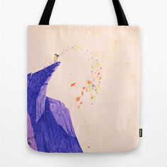 colors in the wind pocohantas ... tote bag by studiomarshallgifts on Etsy