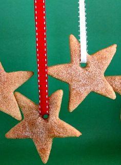 Festive Cinnamon- Sugar Star Cookies