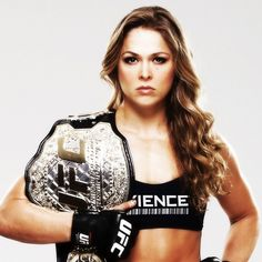 Ronda Rousey Fights Clean