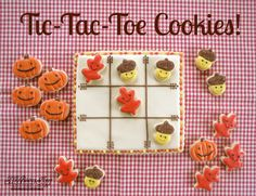 Thanksgiving cookies ideas - cute idea for kids to help make and eat