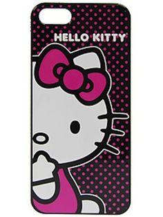 pokadot hello kitty iphone 5 case