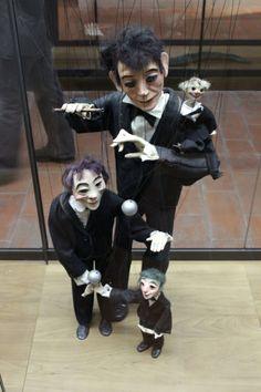 Marionette by Louis Valdes (1923-1965) in Musee de la Marionnette, Lyon