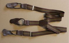 Vintage Hosenträger Taste Hosen Hosenträger mit Drop enden Nein
