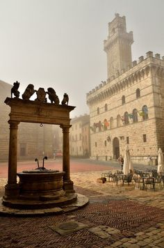 Montepulciano, Tuscany. Italy