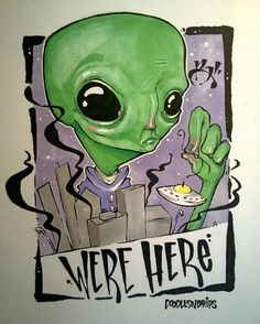 Were Here Ink, Markers and alien DNA... . . . @magicpineappleuk