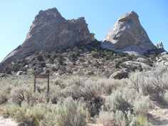 City of Rocks Twin Sisters