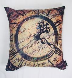 lava About Time Feather Filled Pillow