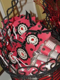Adorable Ladybug Party Favors by Papercutzmidland on Etsy, Grad Parties, Birthday Parties, San Antonio, Ladybug Party, 2nd Birthday, Birthday Ideas, Crafty Projects, First Birthdays, Party Favors
