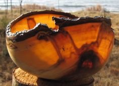 Amazing Wood Bowls from the North Shore of Lake Superior  http://www.loupignoletbowls.com/Pages/Examples.aspx