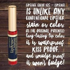 LipSense won't rub off, kiss off or smear off and it wears for up to 18 hours! Contact me today. FB Beautiful Lips Boutique  IG @HealthyLipscense www.senegence.com/HealthyLips4U #lipsense#longlastinglipstick#lipcolor