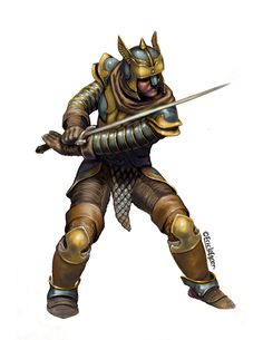 Eric Lofgren Presents: Swordmaster Stance Fighter - Misfit Studios | Eric Lofgren | Publisher Resources | DriveThruRPG.com Privateer Press, Stock Art, Art File, Misfits, All Art, Art Images, Studios, Presents