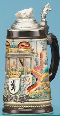 BERLIN CAPITAL BEER STEIN
