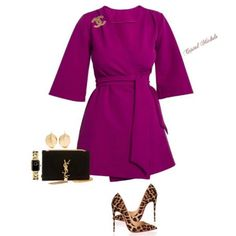 A fashion look from September 2017 featuring duster coats, distressed jeans and high heel shoes. Browse and shop related looks. Diva Fashion, Look Fashion, Autumn Fashion, Womens Fashion, Purple Fashion, Classy Outfits, Stylish Outfits, Mode Pastel, Mode Outfits