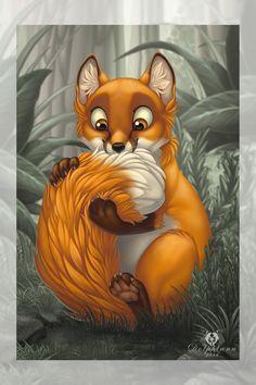 NomNom-Fox by DolphyDolphiana.deviantart.com on @DeviantArt