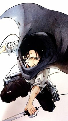 "Shingeki no Kyojin {Attack on Titan} - Rivaille ""Levi"" Ackerman"