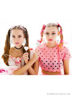 Heart tops (cut) | Honey mi Honey (Honey Me Honey) | Fashion Walker