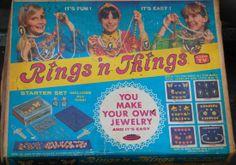 TOPPER: 1970 Rings 'N Things Jewelry Molding Kit