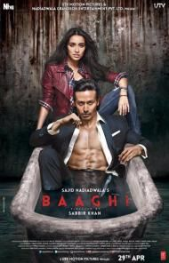 Reviews,baaghi,Tiger Shroff,Shraddha Kapoor,Sabbir Khan