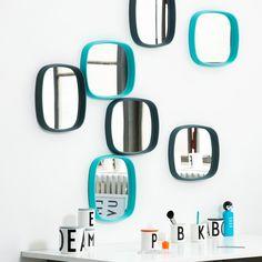 """❤Wir lieben Retro! Der Wandspiegel """"Television"""" von Design Letters verzaubert uns durch seinen Retro-Look.❤"""