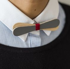 diy ideas - let's see how to make wooden bow tie