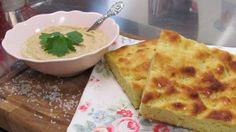 Kartoffelbrot mit Kichererbsen-Zitronen Dip: Das Rezept aus Enie
